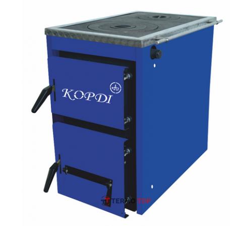Корди АКТВ 10-16 кВт (плита) твердотопливный котел
